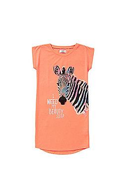 F&F Zebra Nightie - Orange