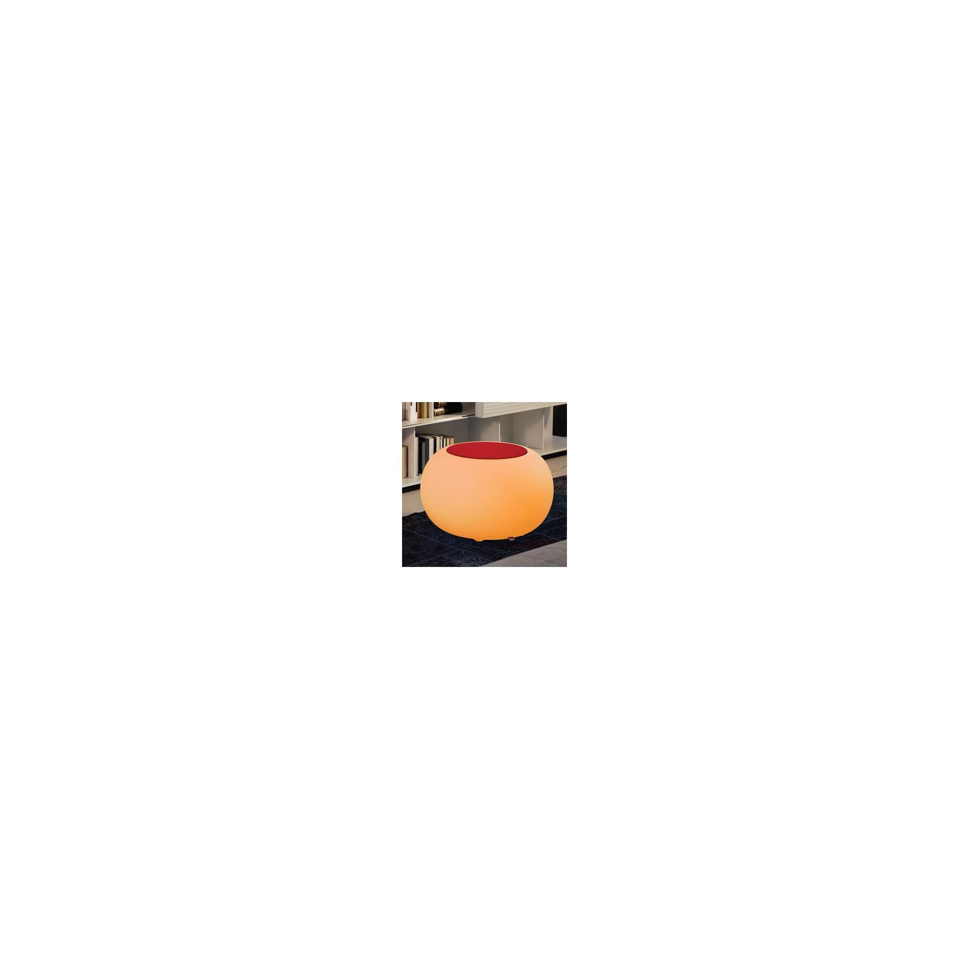 Moree Bubble Indoor Colour Changing Table - Felt Cushion Orange at Tesco Direct