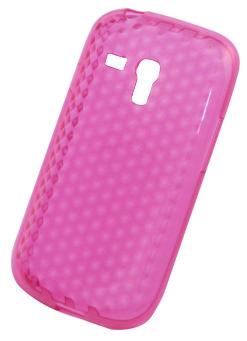 Tortoise™ Soft Case Samsung Galaxy S3 Mini Honeycomb Pink.