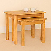 Newlyn Nest of Tables - Light Oak
