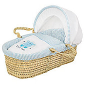 Scribbles Moses Basket - Palm