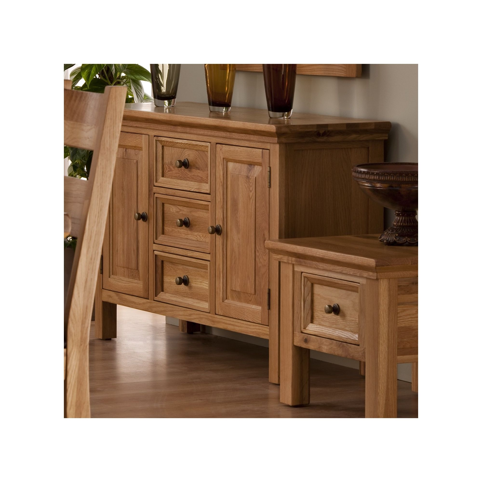World Furniture Provence Sideboard in Oak at Tesco Direct