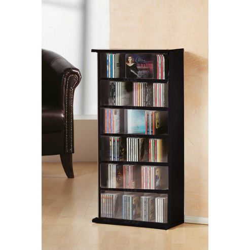 VCM Vostan CD / DVD Tower - Black