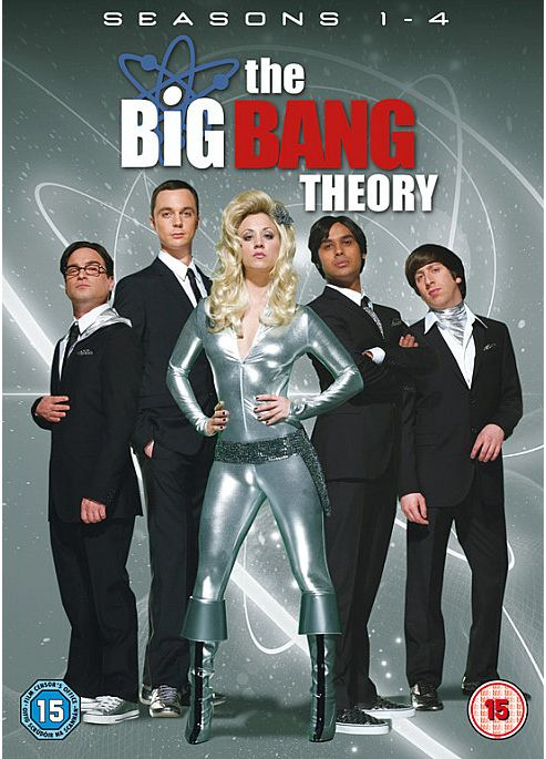 Big Bang Theory - Series 1-4 - Complete (DVD Boxset)