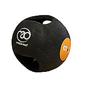 Fitness-MAD 8Kg Double Grip Medicine Ball