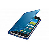 Samsung Original Galaxy S5 Mini Flip Case Punching Pattern Electric Blue