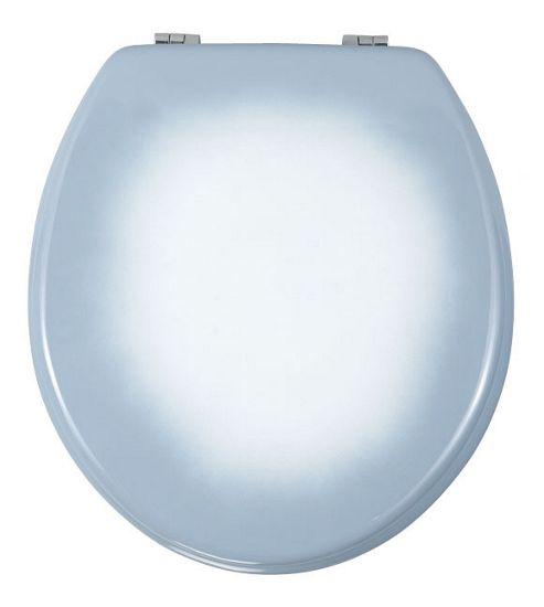 Wenko Prima Toilet Seat in Blue D?grad?