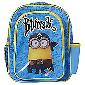 Despicable Me Minions Pirate Backpack with Pockets