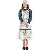 Victorian School Girl - Child Costume 5-6 years