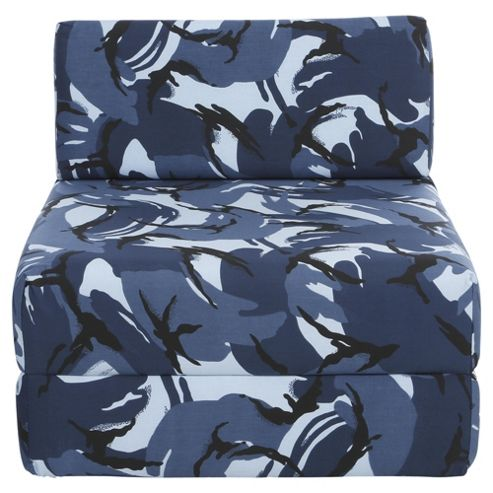 Sit n Sleep Blue Camouflage