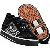 Heelys Bolt Black/White Heely Shoe - Black
