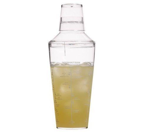 Bar Craft Acrylic Cocktail Shaker 700ml