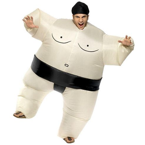 Inflatable Sumo - Adult Costume Size: 39-44