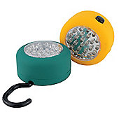 Magnetic 24 LED Lamps Yellow and Green - 2 Pack