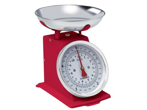 Hanson H500 Traditional Scale Red