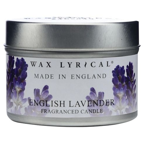 Wax Lyrical Made In England Lavender Tin Candle