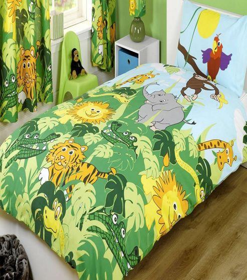 Buy Kids, Jungle Bedding Set from our Duvet Covers range ...