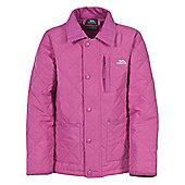 Trespass Girls Dakota Quilted Jacket - Pink