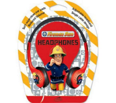 Little Star FSH Fireman Sam Kids Headphones.