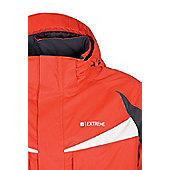 Squaw Extreme Mens Waterproof Warm Snowboarding Skiing Winter Ski Jacket Coat - Red