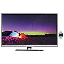 Technika 32F21W-FHD/DVD 32 Inch Full HD 1080p Slim LED TV / DVD Combi with Freeview - White