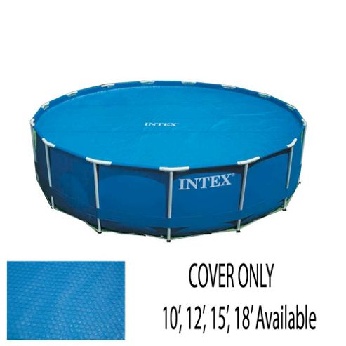 Buy intex 18 39 solar pool cover from our pool accessories for Garden pool tesco