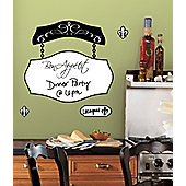 Bon Appetit Dry Erase Wall Stickers