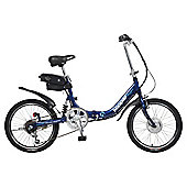 Hopper Shopper Electric Bike, Blue