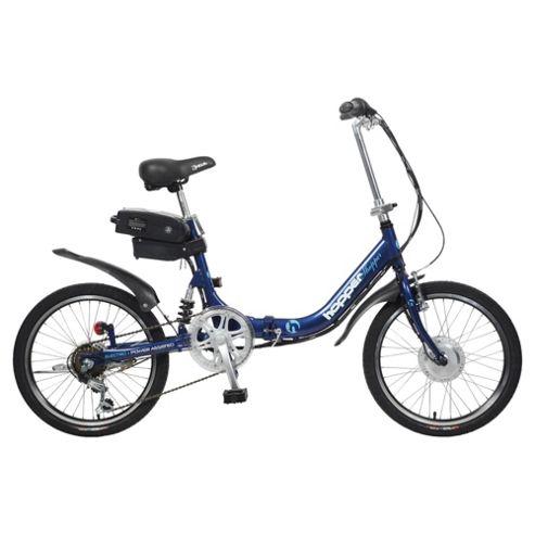 Hopper Shopper Electric Bike, Blue