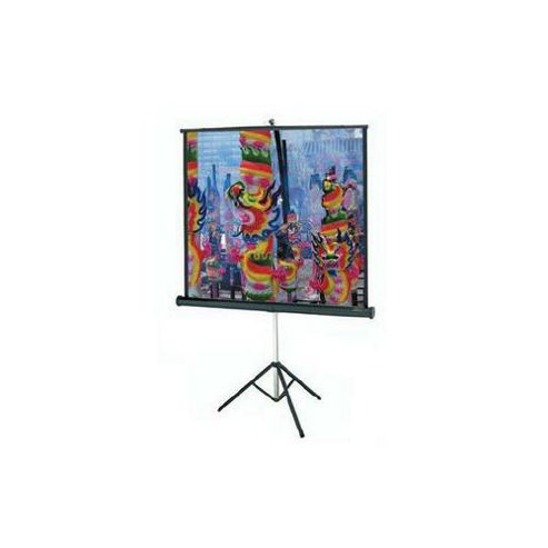 Da-Lite Versatol Portable Tripod Screen Square Format - White, 50 x 50 inch