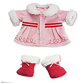 Warm X'mas Wishes Winter Coat for Baby Stella by Manhattan Toys