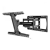 "Peerless PRMA451 Full Motion Wall Mount Bracket for 39""to 90"" TVs in Black"