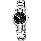 Candino Casual Ladies Silver Stainless Steel Stone Set Watch C4574/2