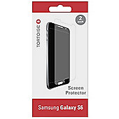 "Tortoiseâ""¢ Samsung Galaxy S6 Screen Protector Twin Pack"