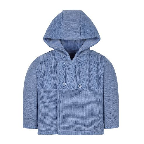 Buy Mothercare Baby Newborn Boy's Knitted Cardigan Sweater ...