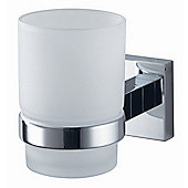 Haceka Mezzo Glass Holder in Chrome