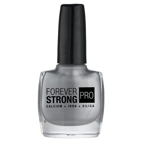 Maybelline Nail Forever Strong Metal Silver 826