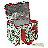 Rambling Rose lunchbag, Green