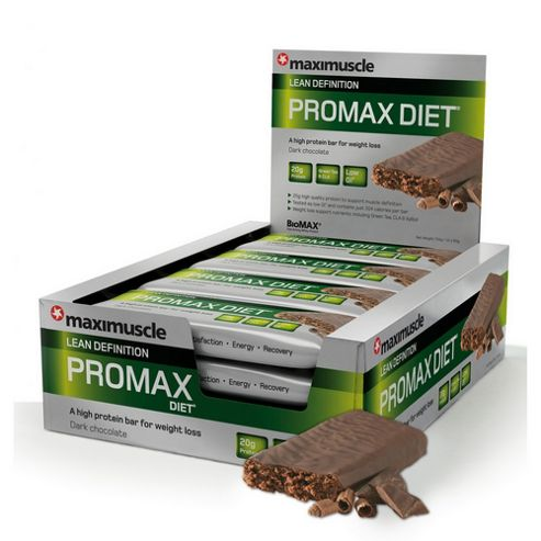 Promax Diet Bar 12x60g Chocolate