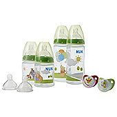 NUK Winnie the Pooh Bottle & Soother Set (0-6M)