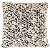 Loose Knit Cushion Natural