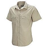 Craghoppers Mens Kiwi Short Sleeve Shirt - Beige