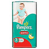 Pampers Baby Dry Pants Size 3 Essential 44