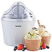 VonShef Ice Cream, Frozen Yoghurt and Sorbet Maker Machine 1.45 Litre