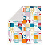 Mamas & Papas - Patternology (Geometric) - Cotbed Quilt