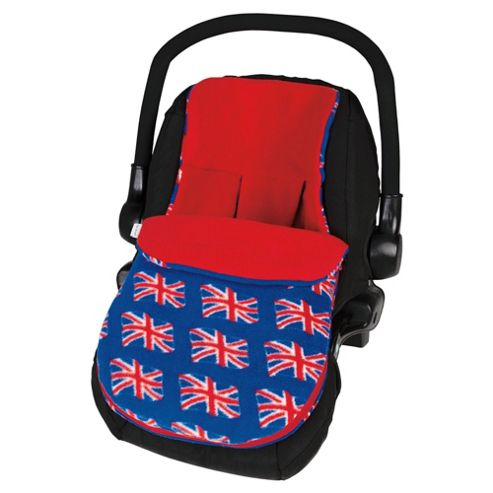 Union Jack Car Seat Footmuff