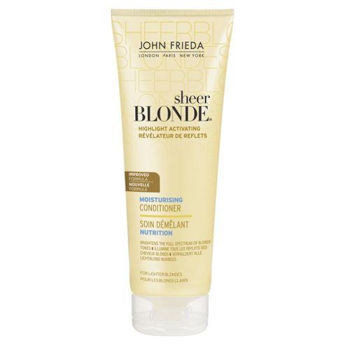 John Frieda Sheer Blonde Moisturising Conditioner for Lighter Blonde 250ml
