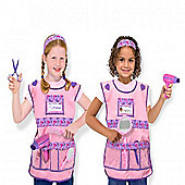 Melissa & Doug Hairdresser Dress Up Costume Set