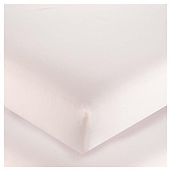 100% Egyptian Cotton Double Fitted Sheet - Blossom Pink