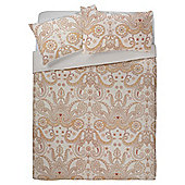 Tesco Paisley Duvet Set Double Taupe